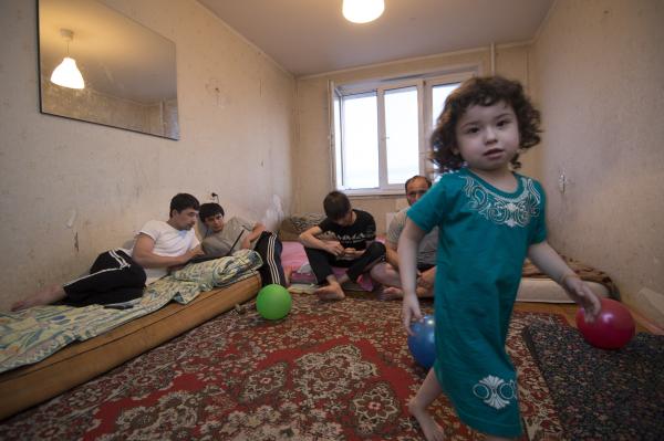 Около 200 тыc. мигрантов прибыло вМосковскую область в 2016-ом