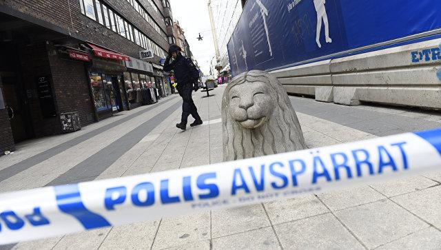 ВСтокгольме произошел взрыв около метро
