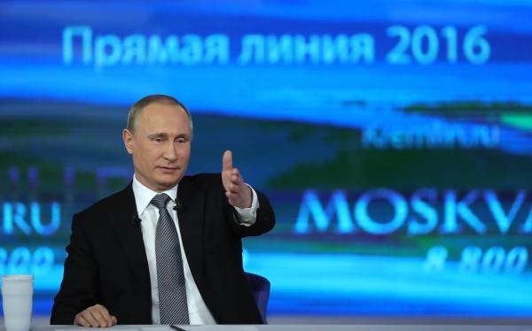 Путин обвинил США вподдержке террористов вЧечне