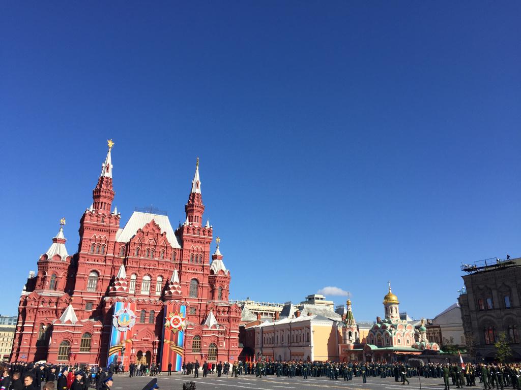Генеральная репетиция парада Победы началась в российской столице