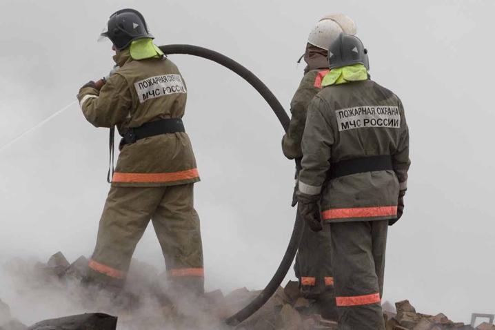 ВТЦ назападе столицы  произошёл пожар