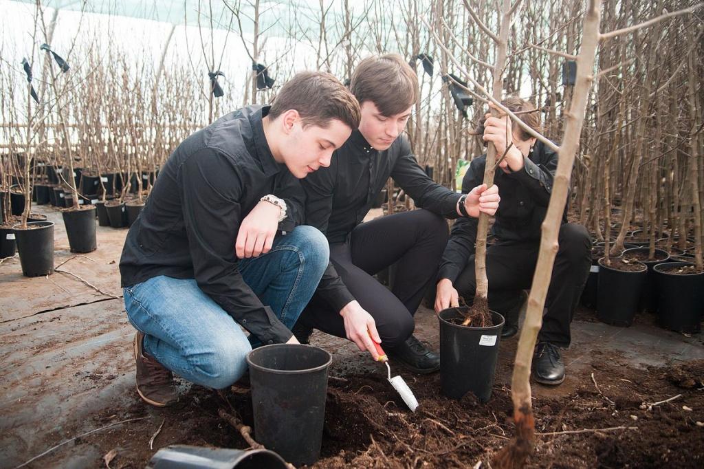 Студенты аграрного университета вырастят яблоневый парк для убитых несчастьем кемеровчан